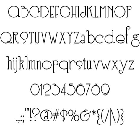 Nick Curtis: Typefaces from 2006
