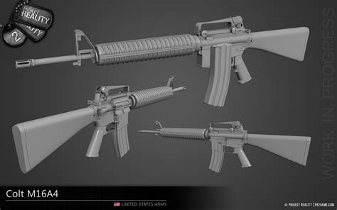 Colt M16A4 - WIP image - Project Reality 2 - Mod DB