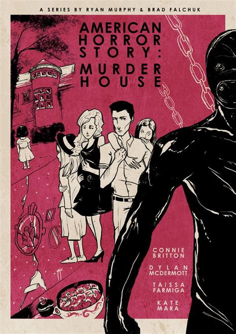 American Horror Story : Murder House (inspired posters) by Roberto Sánchez, via