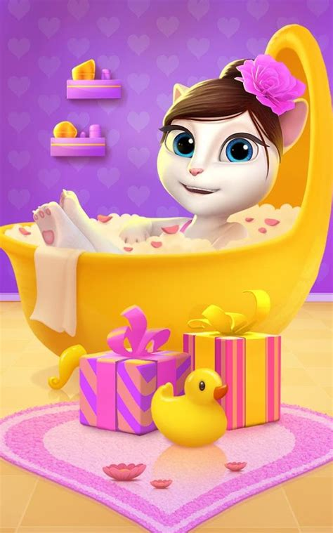 My Talking Angela APK Download - Android Casual Games